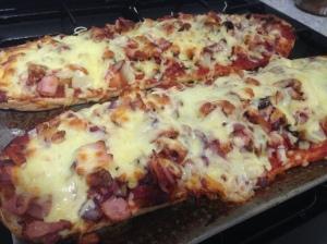 Turkish Bread Pizza